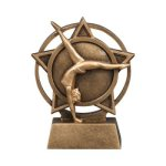 Orbit Resin Awards -Gymnastics Orbit Resin Trophy Awards
