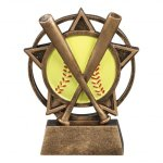 Orbit Resin Awards -Softball Orbit Resin Trophy Awards