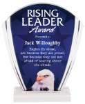 Eagle Full Color Acrylic Award Patriotic Awards