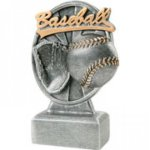 Pinwheel Script Resin -Baseball Pinwheel Script Resin Trophy Awards