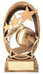 Radiant Series Resin Trophy -Volleyball Radiant Series Resin Trophy Awards