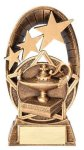 Radiant Series Resin Trophy -Lamp of Knowledge Radiant Series Resin Trophy Awards