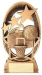 Radiant Series Resin Trophy -Basketball Radiant Series Resin Trophy Awards