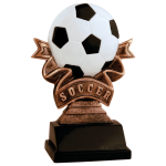 Ribbon Resin -Soccer  Ribbon Resin Trophy Awards