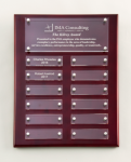 Rosewood High Gloss Perpetual Plaque Sales Awards