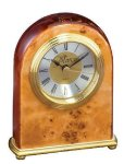 Domed Burl Desk Clock Sales Awards