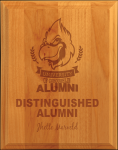 All American Ogee-Edge Red Alder Plaque Sales Awards