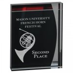 Lustre Acrylic Stand-Up Sales Awards
