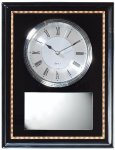 Wall/Desk Plaque Clock Award Sales Awards