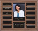 Walnut Perpetual Plaques Sales Awards