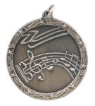 Shooting Star Medal -Music Shooting Stars Medallion Awards