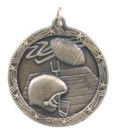 Shooting Star Medal -Football Shooting Stars Medallion Awards