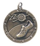 Shooting Star Medal -Track Shooting Stars Medallion Awards