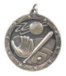 Shooting Star Medal -Baseball  Shooting Stars Medallion Awards