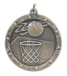 Shooting Star Medal -Basketball Shooting Stars Medallion Awards