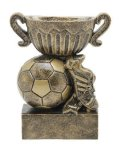 Sport Cup Antique Gold -Soccer Sport Cup Resin Trophy Awards