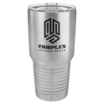 Stainless Steel Ringneck Double Wall Insulated Tumbler -Stainless Steel  Stainless Steel Drinkware