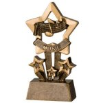 Music Star Resin Star Awards
