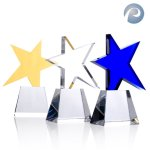 Meteor Award Star Crystal Awards