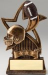 Star Series Sculpted Antique Gold Resin Trophy -Football Star Series Sculpted Antique Gold Resin Trophy Awa