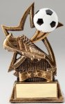 Star Series Sculpted Antique Gold Resin Trophy -Soccer Star Series Sculpted Antique Gold Resin Trophy Awa