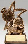 Star Series Sculpted Antique Gold Resin Trophy -Swim Star Series Sculpted Antique Gold Resin Trophy Awa