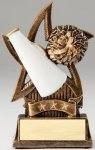 Star Series Sculpted Antique Gold Resin Trophy -Cheer Star Series Sculpted Antique Gold Resin Trophy Awa