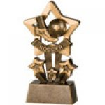 Star Resin Awards -Football Star Step Resin Trophy Awards