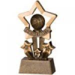 Star Resin Awards -Basketball Star Step Resin Trophy Awards