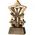 Star Resin Awards -Achievement  Star Step Resin Trophy Awards