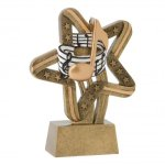 Stars and Stripes Resin Awards -Music Stars & Stripes Resin Trophy Awards