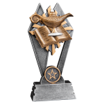 Sun Ray Resin -Lamp of Knowledge Sun Ray Resin Trophy Awards