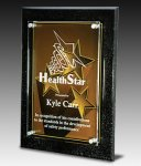 Star Excellence Plaque Traditional Acrylic Award Series