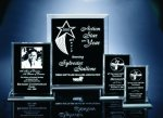 Back Beveled Black Painted Plaque Traditional Acrylic Award Series