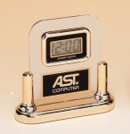 Acrylic Clock With LCD Movement Traditional Acrylic Award Series