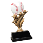Tri Star Resin -Baseball Tri-Star Resin Trophy Awards