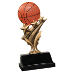 Tri Star Resin -Basketball Tri-Star Resin Trophy Awards