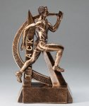 Ultra Action Resin Trophy -Track Male  Ultra Action Resin Trophy Awards