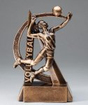 Ultra Action Resin Trophy -Volleyball Female Ultra Action Resin Trophy Awards