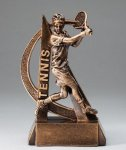 Ultra Action Resin Trophy -Tennis Male  Ultra Action Resin Trophy Awards
