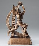 Ultra Action Resin Trophy -Basketball Male  Ultra Action Resin Trophy Awards