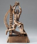 Ultra Action Resin Trophy -Basketball Female Ultra Action Resin Trophy Awards