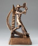 Ultra Action Resin Trophy -Tennis Female Ultra Action Resin Trophy Awards