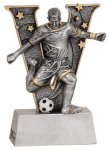 V Series Resin -Soccer Male  V Series Resin Trophy Awards