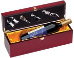 Rosewood Single Bottle Box Wine Gifts