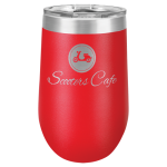 Double Wall Insulated Stemless Tumbler -Red Wine Gifts
