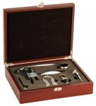 5-Piece Wine Tool Set -Rosewood Finish Wine Gifts