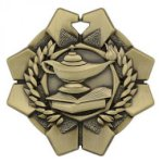 Imperial Medals -Lamp of Knowledge  Wreath Medal Awards