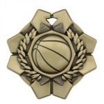 Imperial Medals -Basketball  Wreath Medal Awards