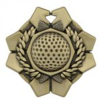 Imperial Medals -Golf  Wreath Medal Awards